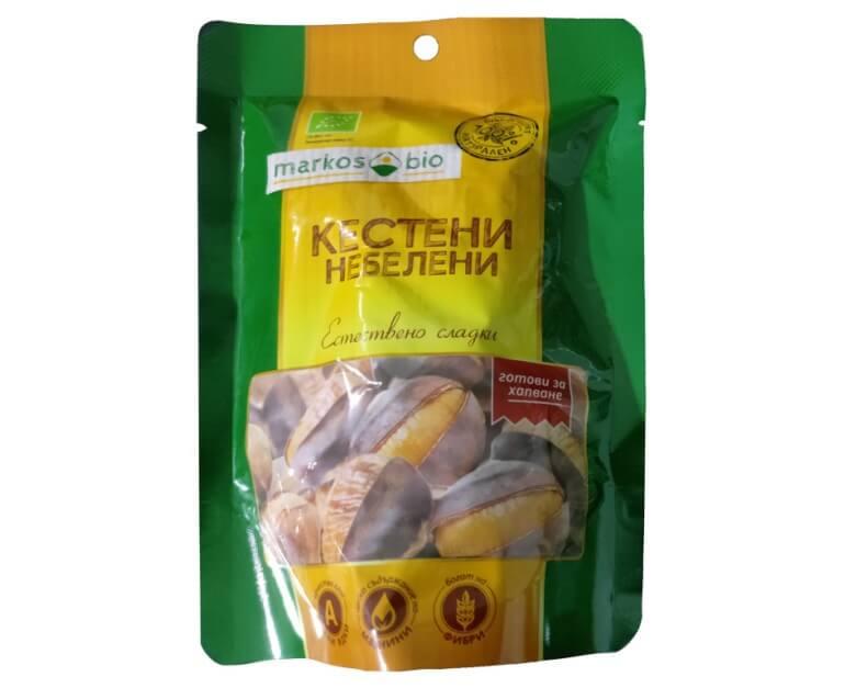 Печени кестени небелени 100 g