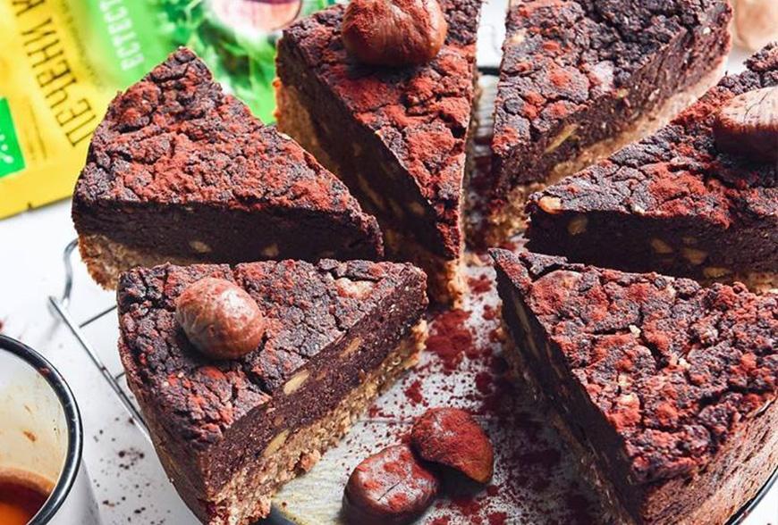 Шоколадов трюфелов кекс с печени кестени и кафе